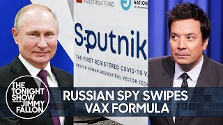 Russian Spy Steals COVID Vaccine Blueprint, Southwest Leaves Thousands Stranded | The Tonight Show