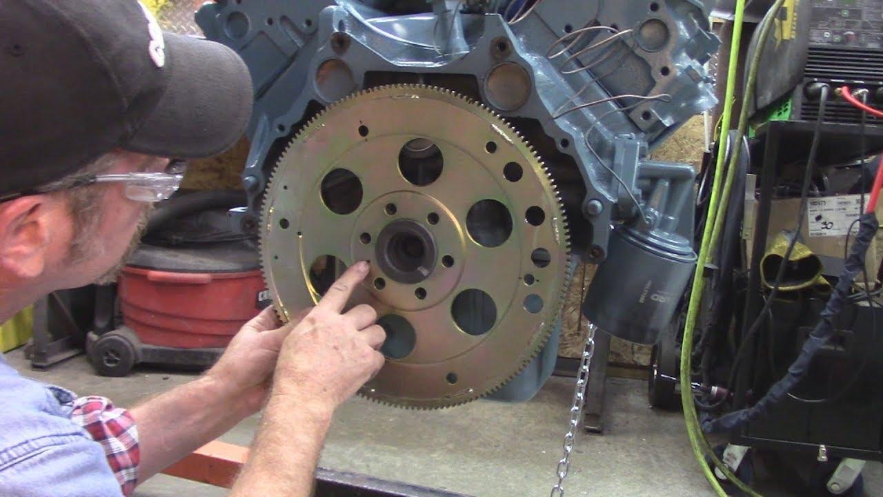 Pontiac 455 Flexplate and Starter Work - YouTube