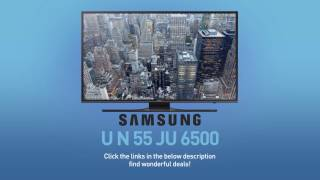 SAMSUNG UN55JU6500 ( JU6500 ) 4K UHD Smart TV // FULL SPECS REVIEW #SamsungTV