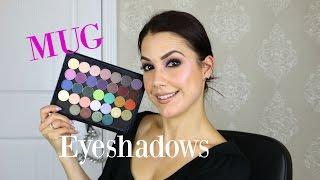 MUG Eyeshadows Swatches & Review {Repost to my original video}