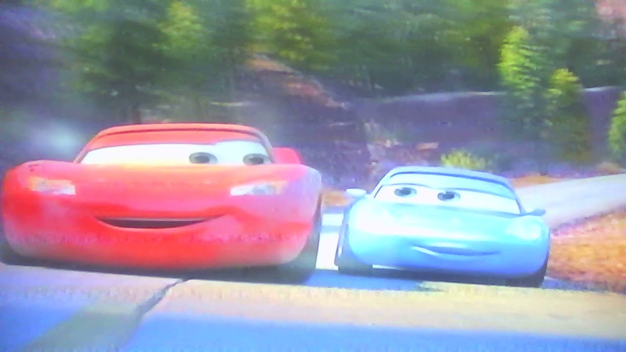 Cars Lightning Mcqueen And Sally Take A Drive Youtube