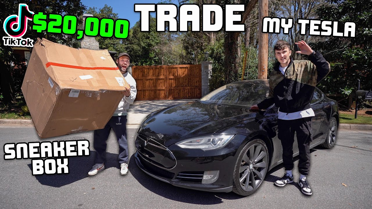 I Bought A Tesla and Traded It For A $20,000 Mystery Box...
