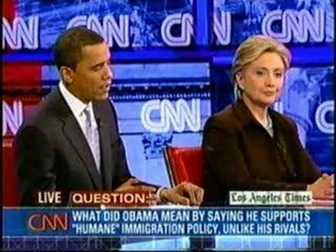 Hillary & Obama on Immigration