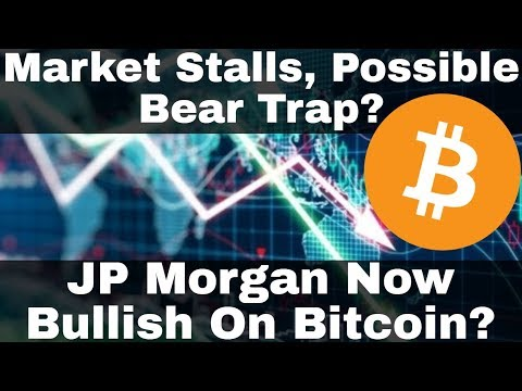 Crypto News | Market Stalls, Possible Bear Trap? JP Morgan Now Bullish On Bitcoin?