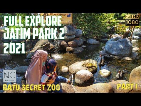 Jatim Park 2 Terbaru Batu Secret Zoo 2021 Wisata Batu FHD 60fps