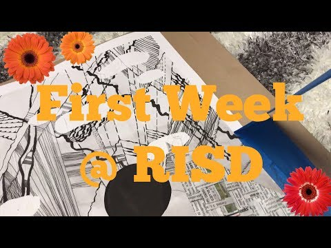 RIP First Week of School (RISD) /// FayeMaybe