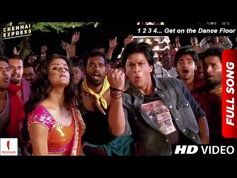 Chennai Express Song  1 2 3 4 Get on the Dance Floor  Shah Rukh Khan & Priyamani