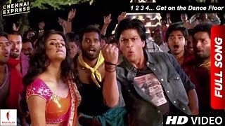 Chennai Express Song - 1 2 3 4... Get on the Dance Floor - Shah Rukh Khan & Priyamani