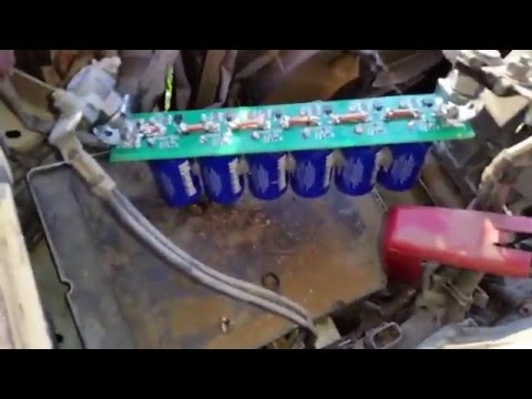Super Capacitor car battery replacement with ballance board  - YouTube
