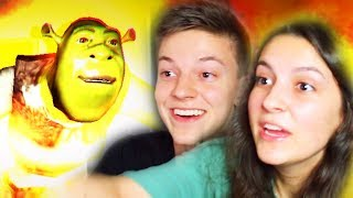 Playing Shrek Horror Game