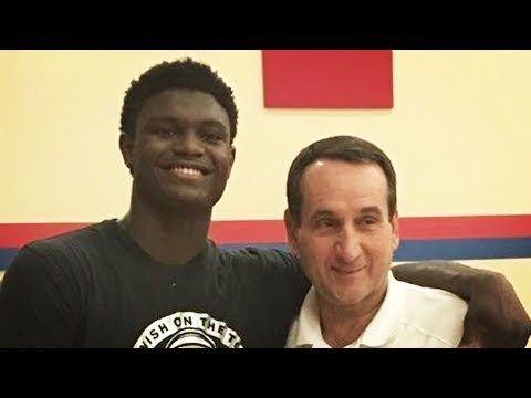 Zion Williamson Commits To Duke