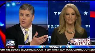 Sean Hannity Kellyanne Conway Interview   11 16 16   Fox News