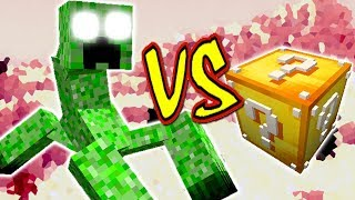 CREEPER MUTANTE VS. LUCKY BLOCK (MINECRAFT LUCKY BLOCK CHALLENGE)