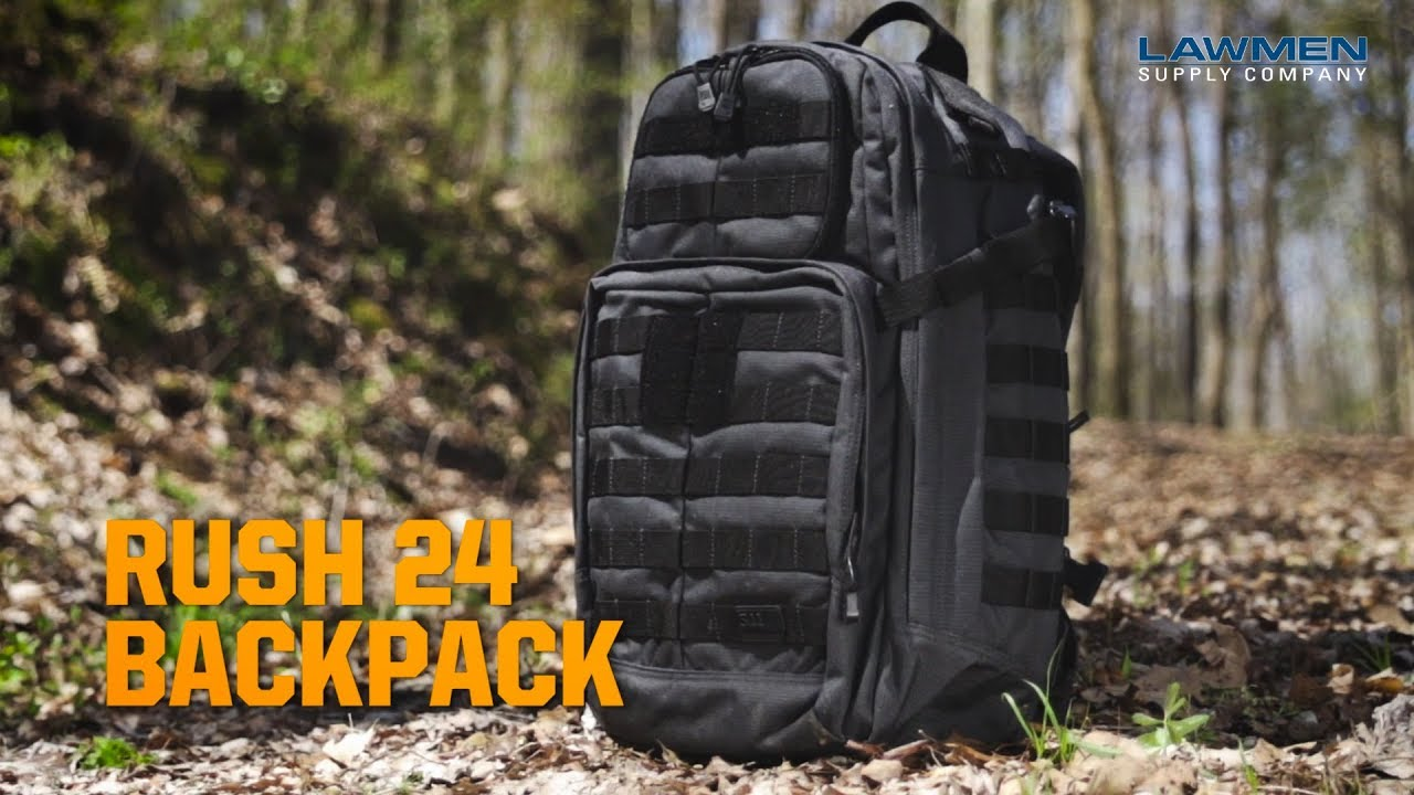 73fb657e9438 5.11 Tactical RUSH 24 Backpack - YouTube