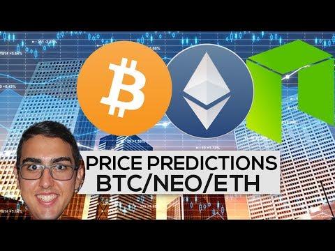 Price Predictions: Bitcoin ($BTC), NEO ($NEO), Ethereum ($ETH)!