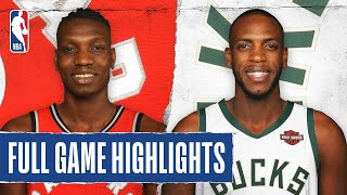 RAPTORS at BUCKS | FULL GAME HIGHLIGHTS | August 10, 2020