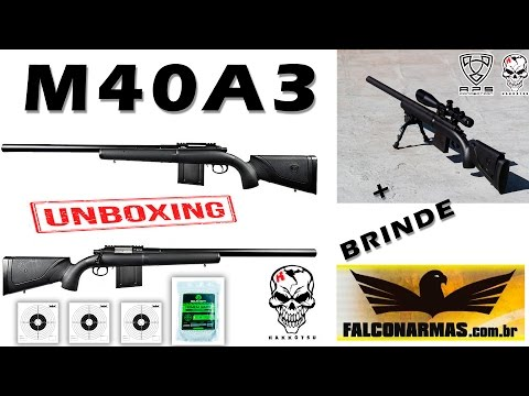UNBOXING APS APM40A3 SNIPER RIFLE