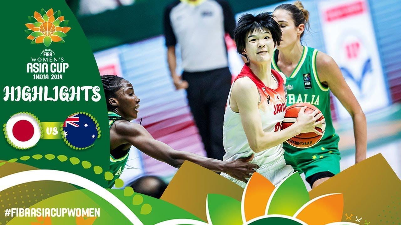 Japan v Australia   Highlights - Semi-Final   FIBA Women's Asia Cup 2019