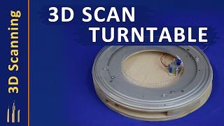 Homemade 3D Scanner Turntable