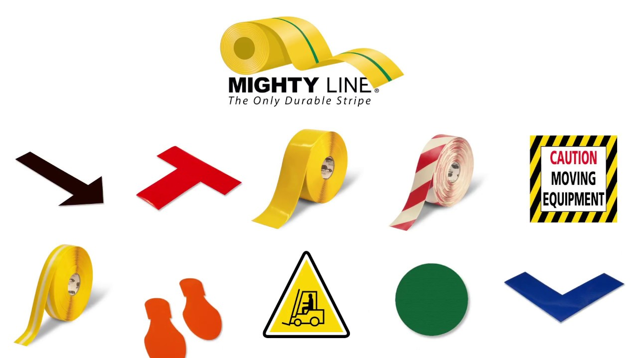 The Benefits Of Mighty Line Floor Tape