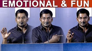 Karunakaran Emotional and Funny Speech | Monster Success Meet