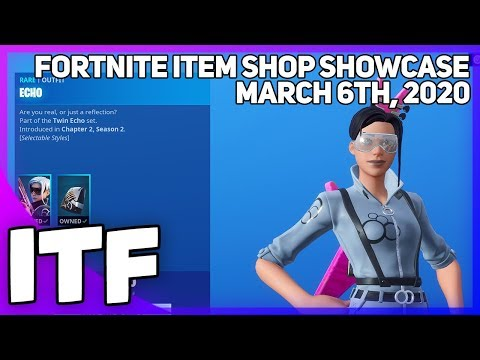 Fortnite Item Shop *NEW* A LOT OF STUFF! [March 6th, 2020] (Fortnite Battle Royale)