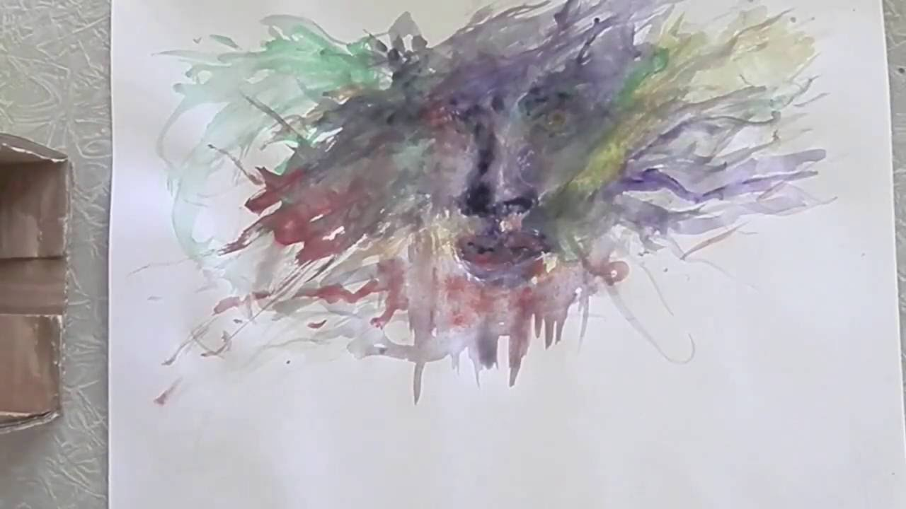 Shock - Amazing watercolor painting - YouTube