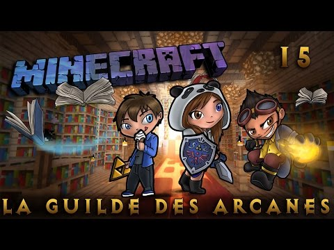 [Minecraft] La Guilde des Arcanes - Episode 15 - Water Guardian! By SianaPanda