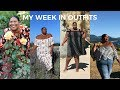 PLUS SIZE FASHION | MY WEEK IN OUTFITS