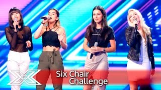 4 Of Diamonds battle it out for the sixth chair!  | Six Chair Challenge | The X Factor 2016