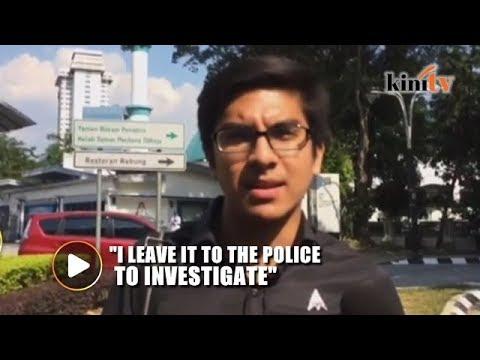 Syed Saddiq: Bukit Aman taking over RM5 million bribe case