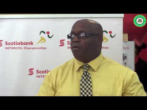 Scotia Bank INTERCOL Championships Launch 2017
