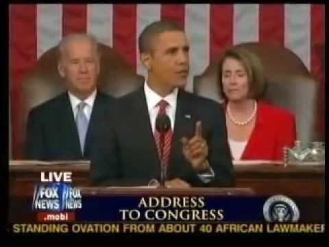 Joe Wilson yells YOU LIE at President Obama