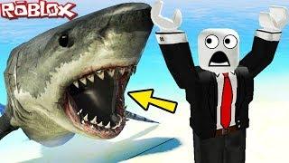 """""""JAWS SHARK ATTACK"""" (Roblox Jaws Film, Roblox Shark Attack, Roblox Shark Bite, Megalodon Shark)"""