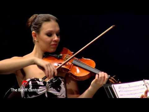 """BISQC 2013 - Attacca Quartet - Joseph Haydn Quartet in C Major """"Emperor"""""""