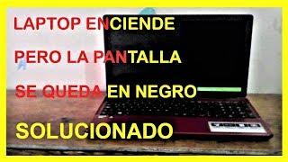 Pantalla Negra Laptop acer