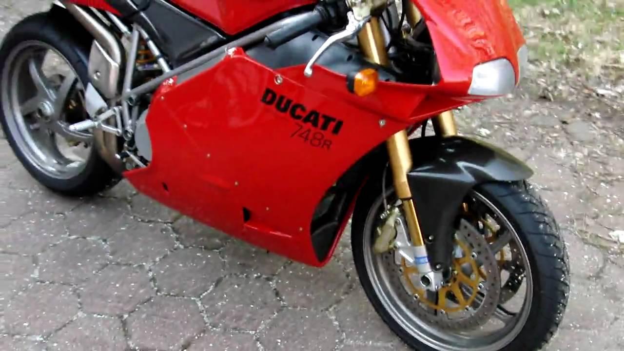 Ducati 748R - YouTube