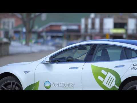 Éco Route Québec / Lancement à Shawinigan