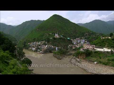 Uttarakhand floods : extent of damage and change at Devprayag