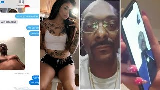Snoop Dogg Caught Creeping with Celina Powell  FULL TEXT MESSAGES & RECEIPTS!