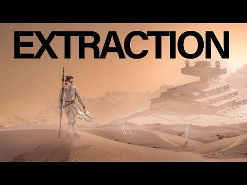 Photoshop Beginner Tutorial - Star Wars Fan Art Composite Episode 1 Extraction thumbnail