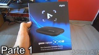 Unboxing - Elgato Game Capture HD60 (Placa de Captura) Parte 1