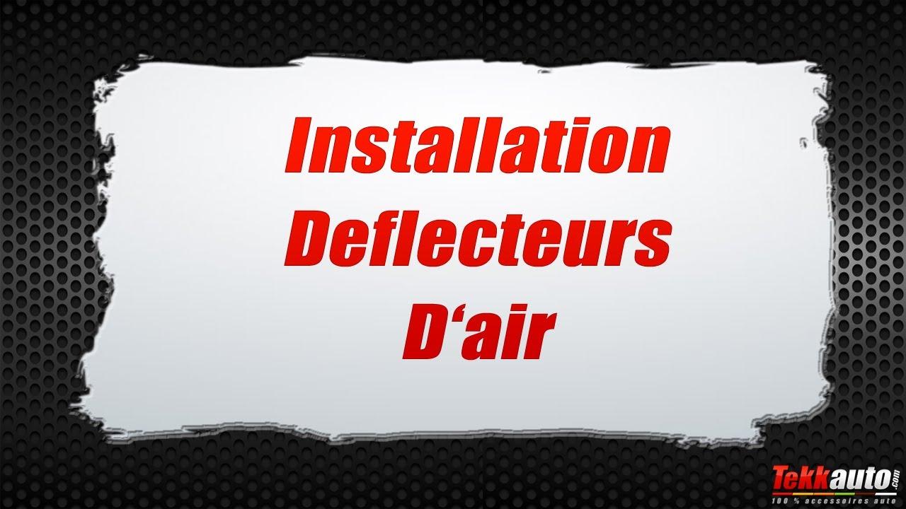 J/&J AUTOMOTIVE Deflecteurs dair d/éflecteurs de Vent Compatible avec Citroen C4 Aircross 2013-pr/és 4 pi/èces