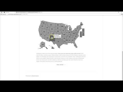 Tutorial: Add A Map To Squarespace (US/World/Canda)