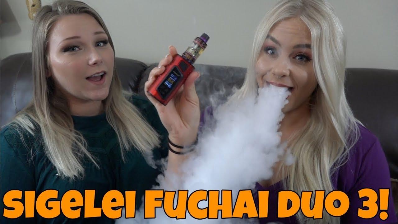 Sigelei Fuchai Duo 3 Review w/ Madi! | TiaVapes Review
