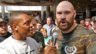 Tyson Fury: I WILL NEVER FIGHT Anthony Joshua!