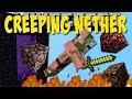 CREEPING NETHER MOD!! (Nether wächst auf der Overworld!) [Deutsch]
