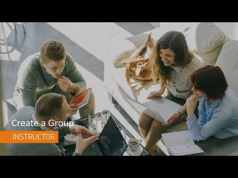 Groups - Create a Group - Instructor