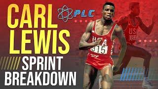 Carl Lewis Sprint Breakdown