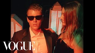 Hailey & Justin Bieber Dance Together at the Met Gala #shorts